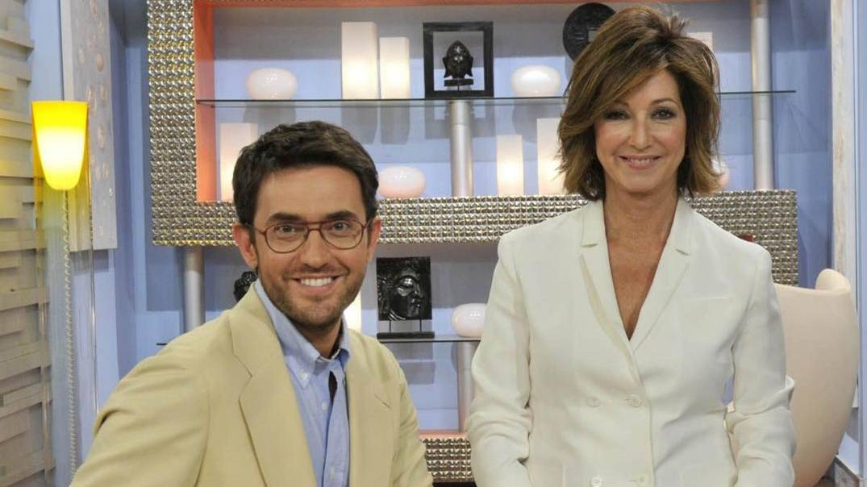 Máxim Huerta y Ana Rosa Quintana, cuando trabajaban juntos.