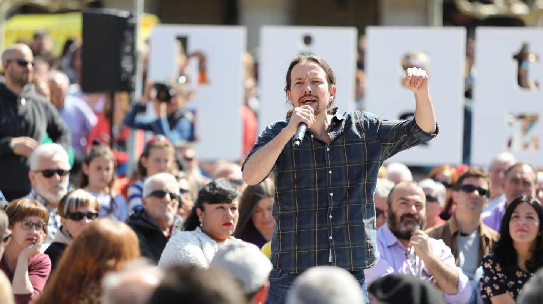 Pablo Iglesias, secretario general de Podemos.