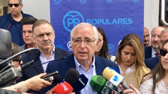Juan José Imbroda, presidente de Melilla.