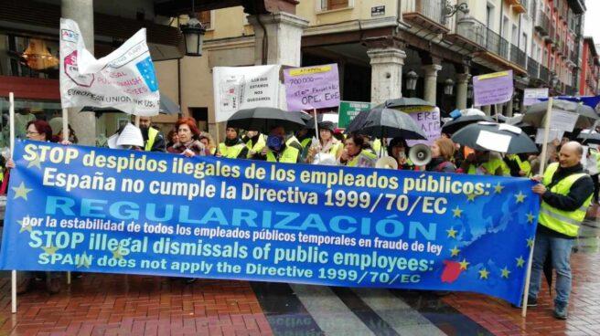 Avalancha de demandas de los interinos públicos para quedarse sus plazas sin opositar