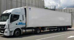 Un camión de gas natural de Iveco, uno de los cinco fabricantes afectados.