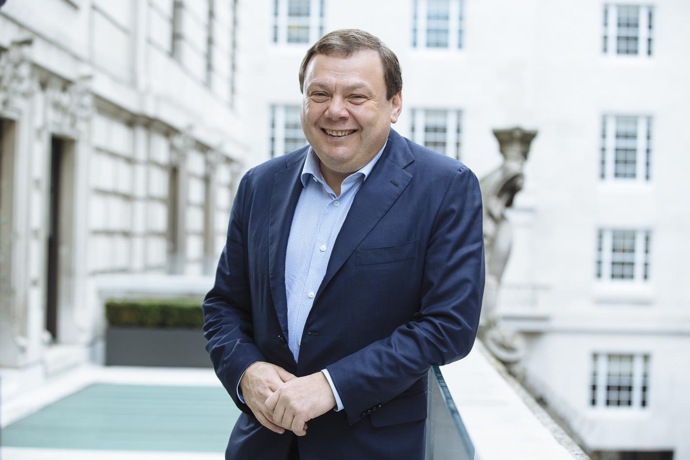 El empresario ruso Mikhail Fridman.