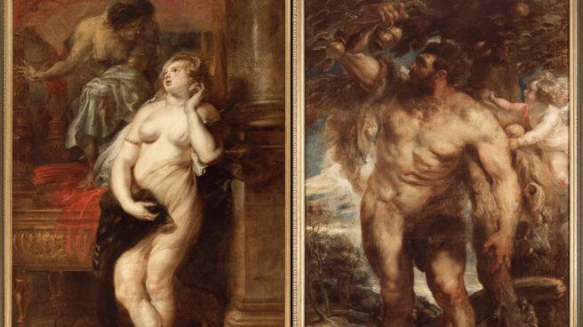 Hércules y Deyanira, por Rubens.