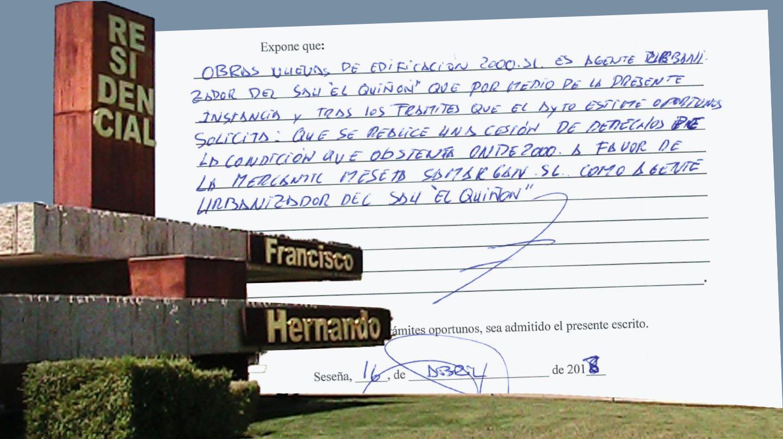 El Pocero pidió hace un año seguir siendo agente urbanizador en su residencial de Seseña a pesar de no acometer las obras comprometidas.