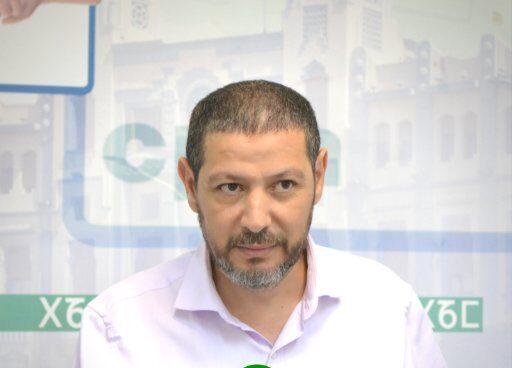 Mustafa Aberchán, cabeza de lista de Coalición por Melilla.