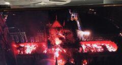 El fuego envuelve Notre Dame pero los bomberos salvan la fachada