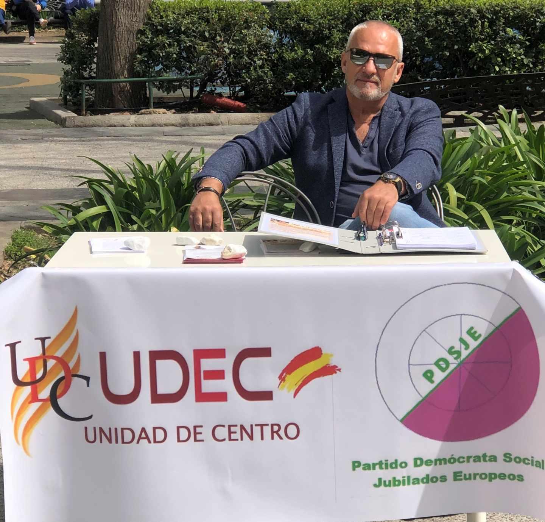 Orlando Porras, candidato de la coalición PDSJE-UDEC.