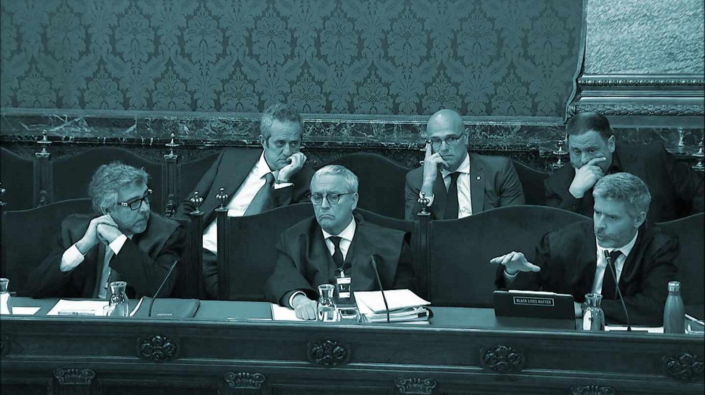 De izquierda a derecha Jordi Pina, Javier Melero y Andreu Van der Eyden.