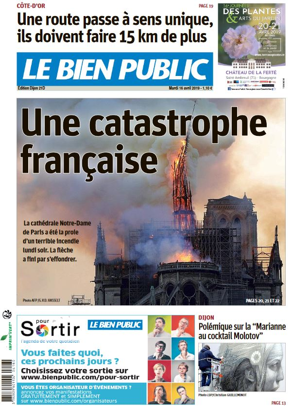 "Le Bien Public: ""Una catástrofe francesa"""