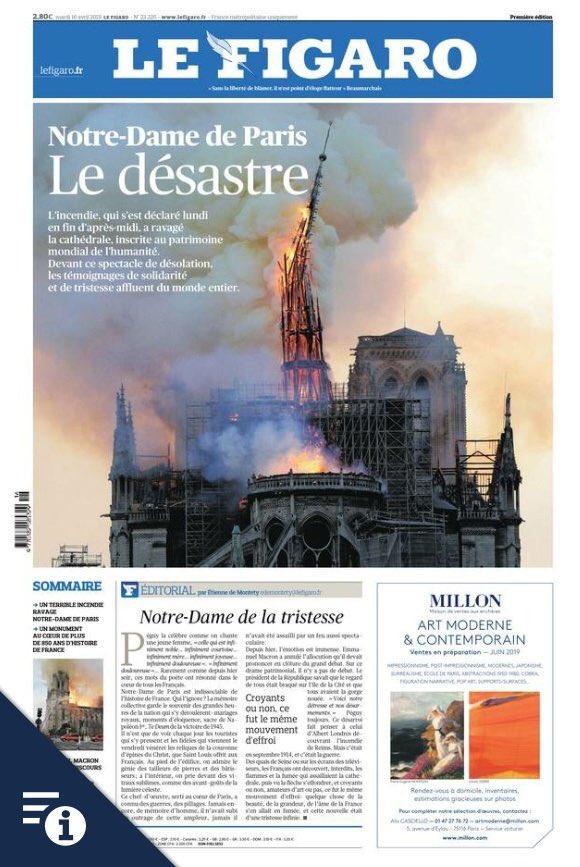 """Le Figaro: """"El desastre"""""""