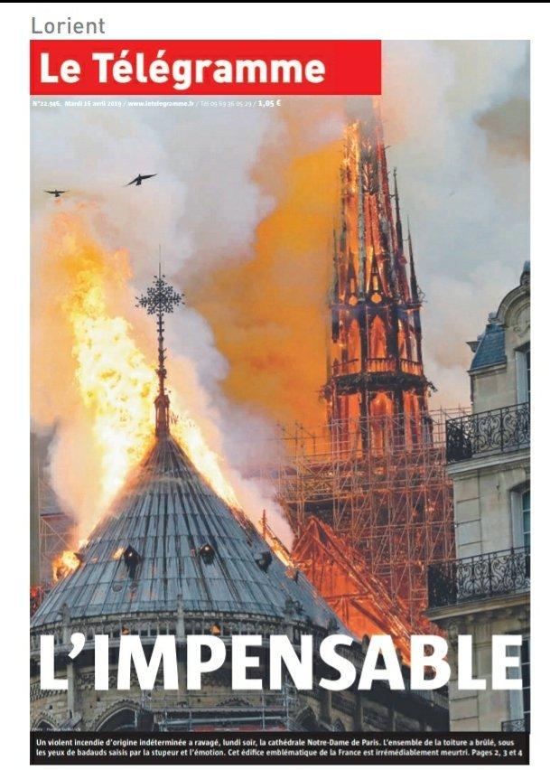 Le Télégramme: 'Lo impensable'
