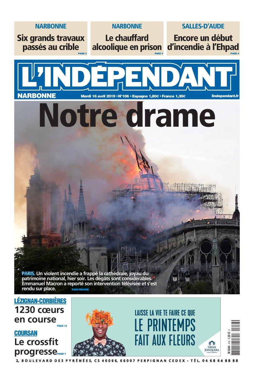 L'Independant: 'Nuestro drama'
