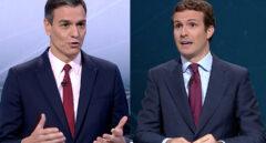 Sánchez y Casado pactarán con Podemos y Vox: se consolidan los bloques del 28-A