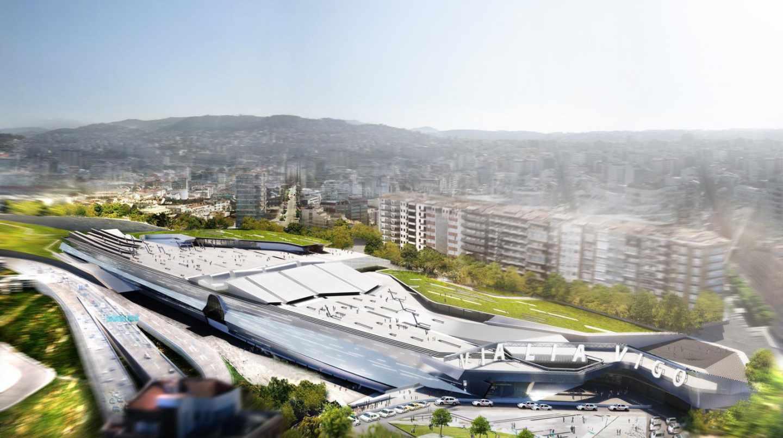 Vigo proyecta un centro comercial de 43.000 metros cuadrados junto a la Estación de AVE de Vigo - Urzáiz.
