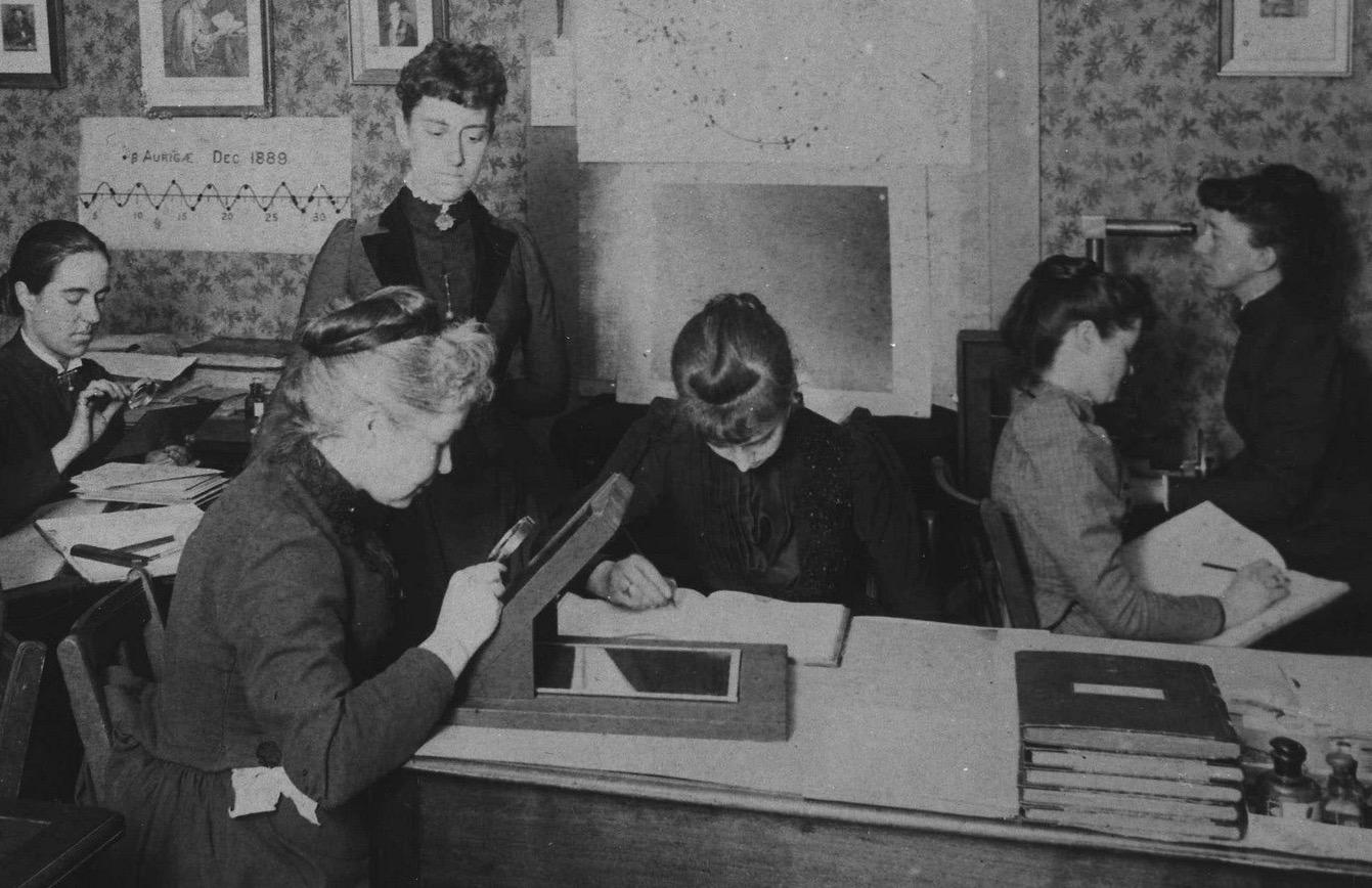 Williamina Fleming y sus computadoras de estrellas