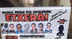 El ayuntamiento de Etxarri Aranatz realiza una visita oficial a la cárcel al asesino de Fernando Buesa