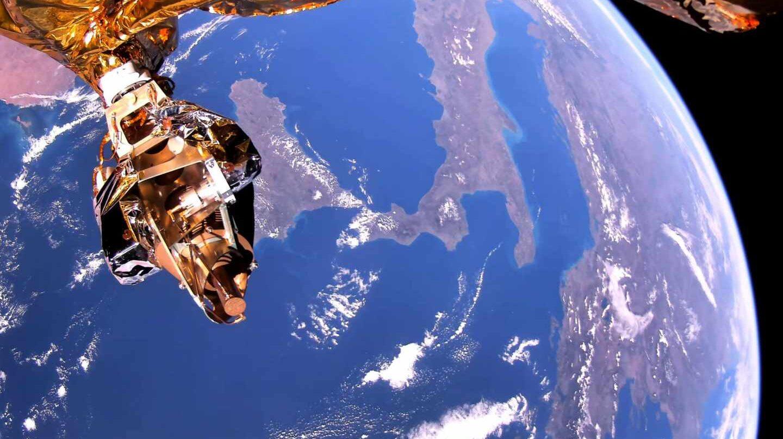 Fotograma de la Tierra en 4K transmitido en tiempo real