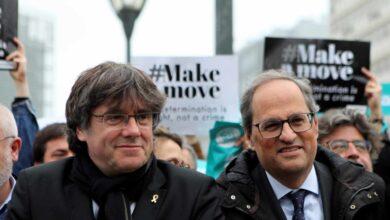 Torra y Puigdemont se reúnen en Bruselas para abordar escenarios políticos tras el 10-N