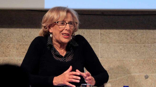 Manuela Carmena, en un debate electoral.