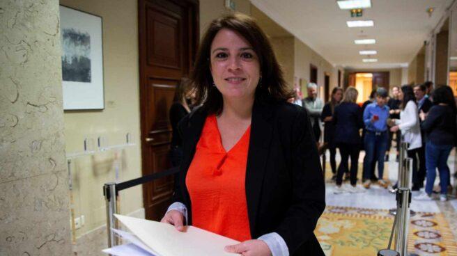 """Adriana Lastra: """"Es un error pensar que el peligro de la extrema derecha ha pasado; el 26M el riesgo se multiplica""""."""