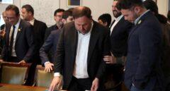 La Fiscalía pide al Supremo que no deje a Junqueras acceder al acta de eurodiputado