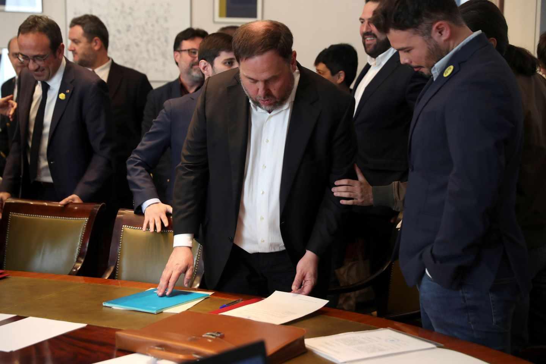 La Fiscalía se opone a liberar a Junqueras y pide su inhabilitación inmediata como eurodiputado