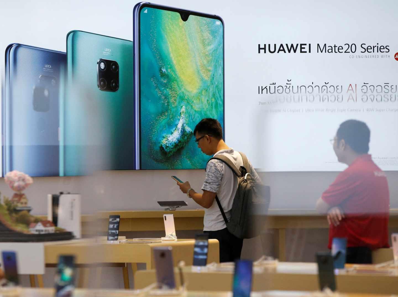 Vodafone cancela los pedidos de móviles 5G de Huawei.