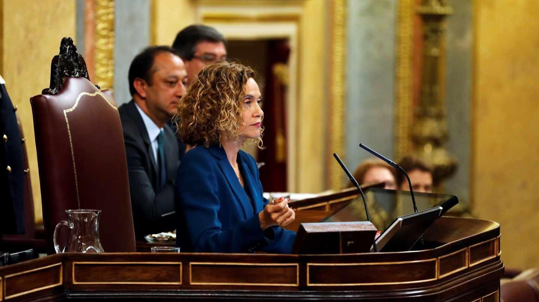 La nueva presidenta del Congreso de los Diputados, Meritxel Batet
