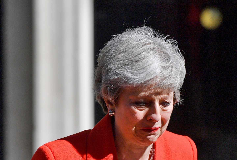 Theresa May anuncia su dimisión.