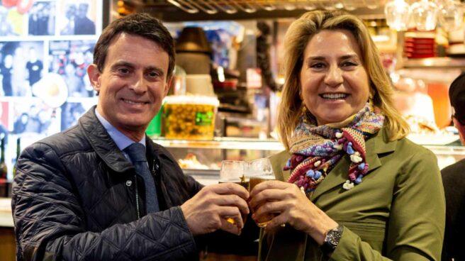 Susana Gallardo, la 'musa' del españolismo que ata a Valls a Cataluña.