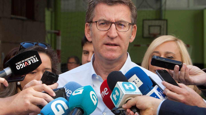 El presidente de la Xunta gallega, Alberto Níñez Feijóo