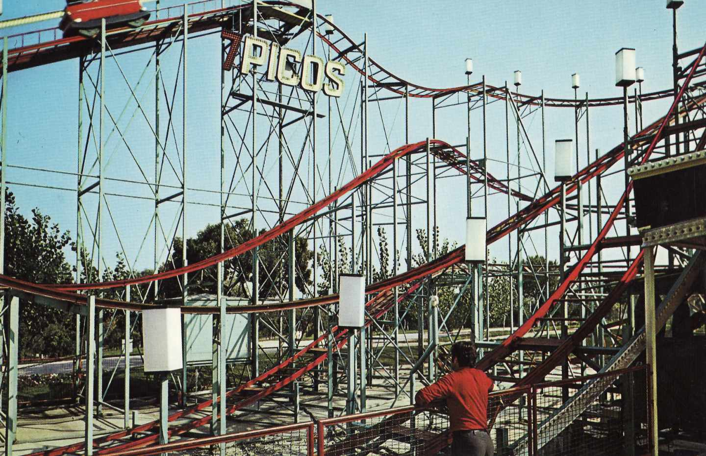 ontaña rusa 7 Picos, inaugurada en 1969.
