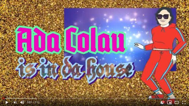 Portada del videoclip de Ada Colau 'Ada in da house'.