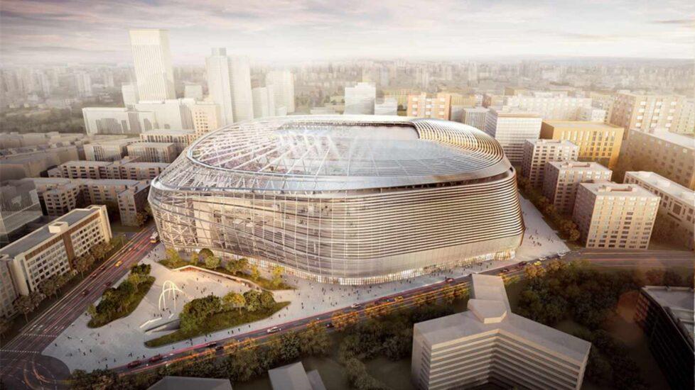 Nuevo estadio Santiago Bernabéu.