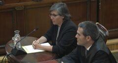 Mireia Boya, en el Tribunal Supremo.