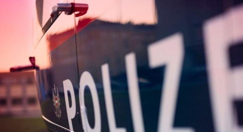 Vehículo policial en Austria.