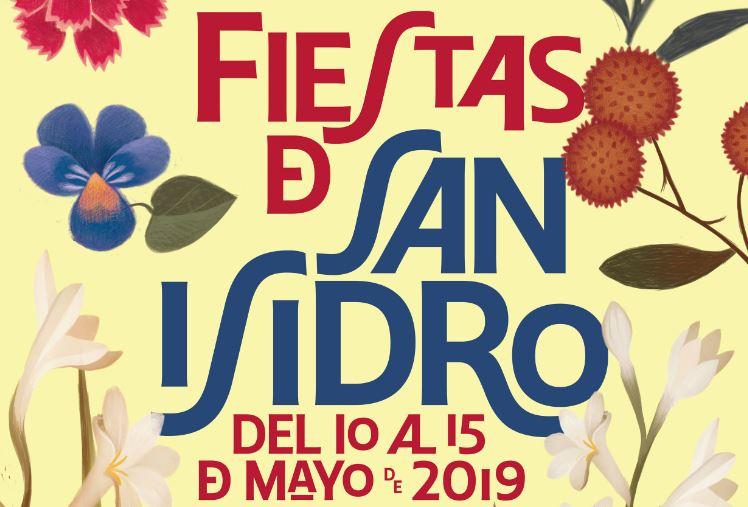 Cartel de las Fiestas de San Isidro 2019.