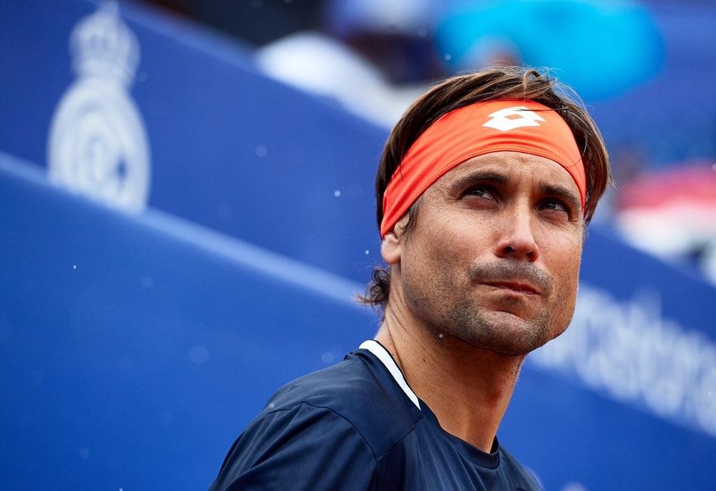 David Ferrer en el Torneo Godó de 2019.