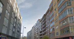 Edificios en la Avenida de Balaídos.