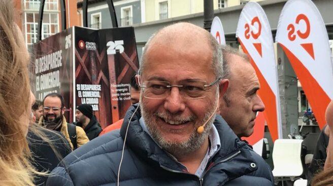 El candidato de Ciudadanos a la presidencia de Castilla y León, Francisco Igea