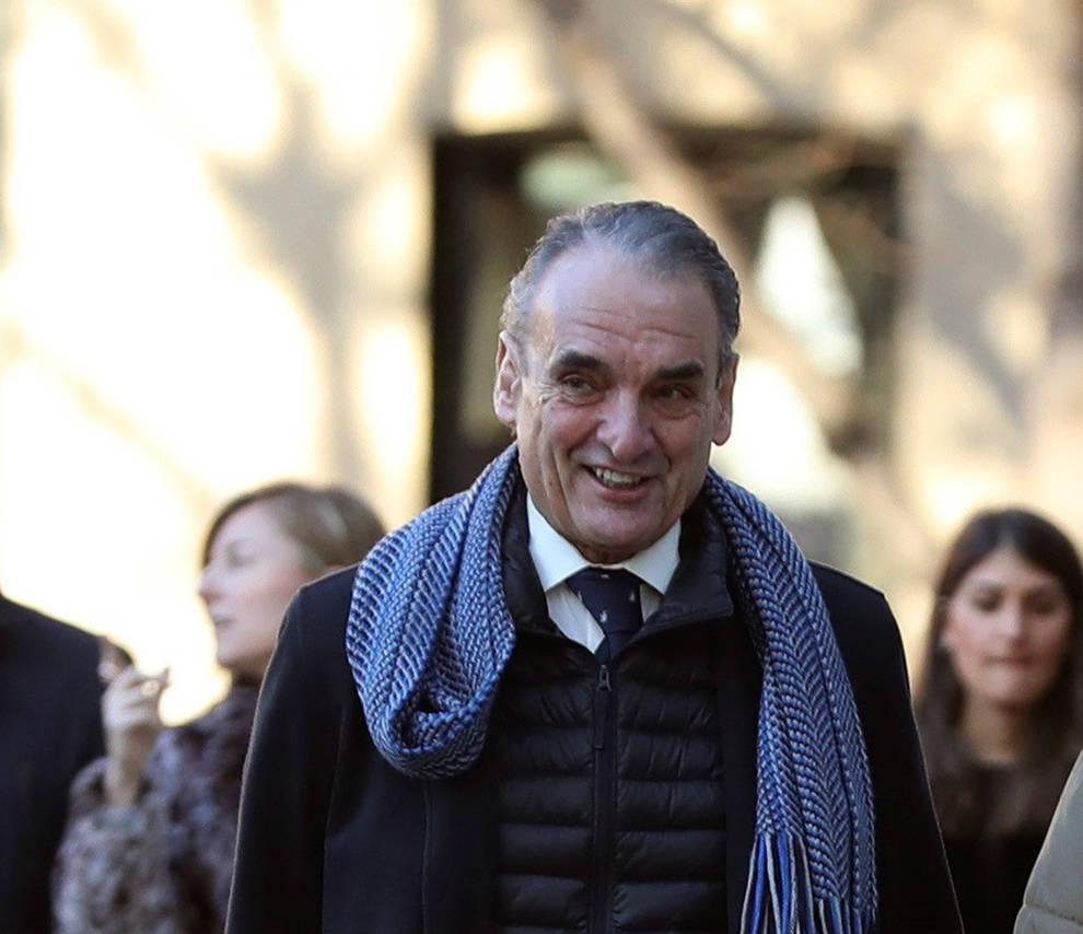 El ex presidente de Banesto, Mario Conde