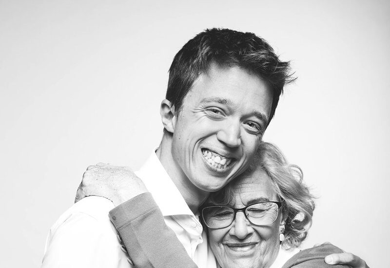 Íñigo Errejón y Manuela Carmena.