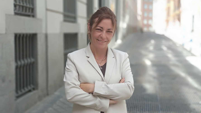 Olga Jímenez, ex presidenta de la Comisión de Garantías de Podemos y candidata de Más Madrid a la alcaldía de Alcorcón