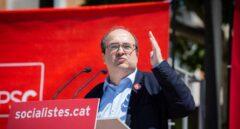 Miquel Iceta, en la campaña electoral del 28-A.