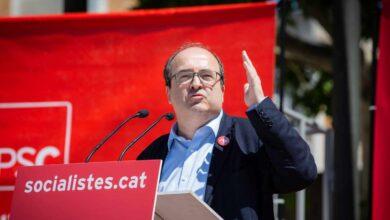 Torra regala a Iceta la pole position en la carrera electoral catalana