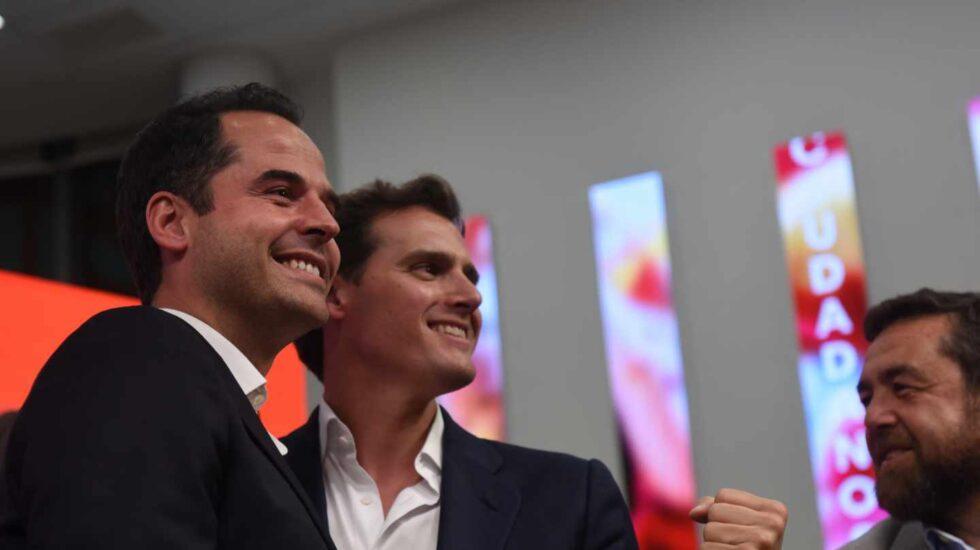 Ignacio Aguado y Albert Rivera
