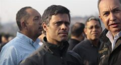 Leopoldo López, tras ser liberado.