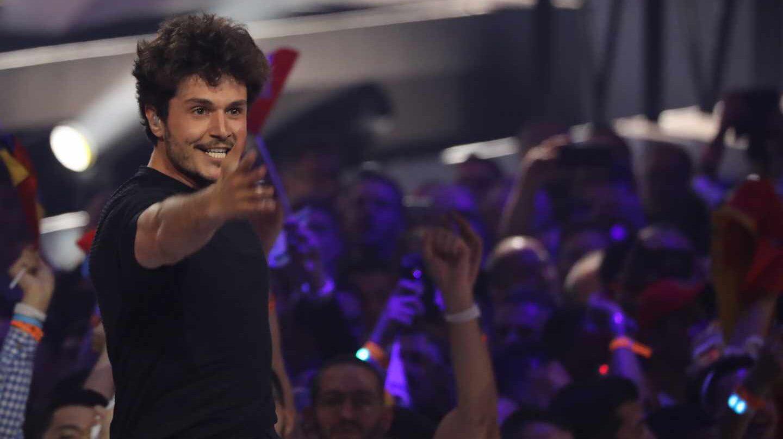 Miki, durante su actuación en Tel Aviv en Eurovisión, 2019.