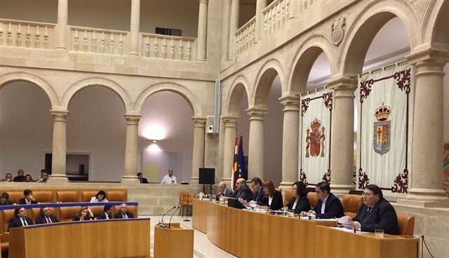 Pleno del Parlamento de La Rioja.