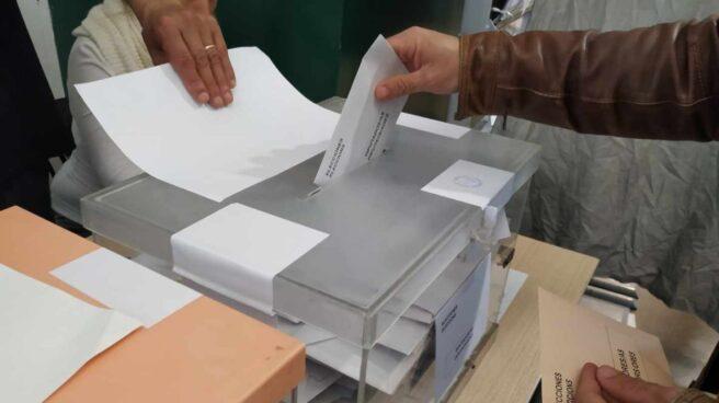 Urnas en las pasadas elecciones generales.
